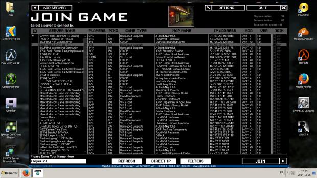 SWAT 4 Server Browser Alternative (Updated #4)