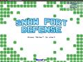 Snow Fort Defense - Linux version