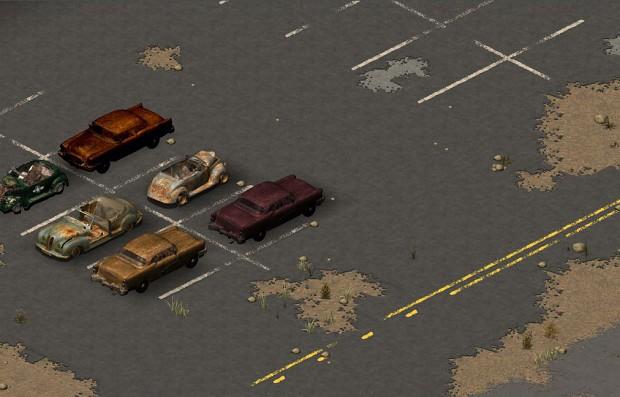 TILES : Street lines