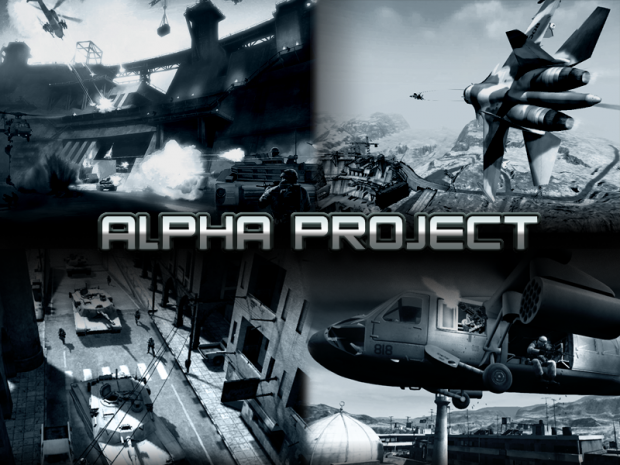 Alpha Project BF2 Mod Launcher