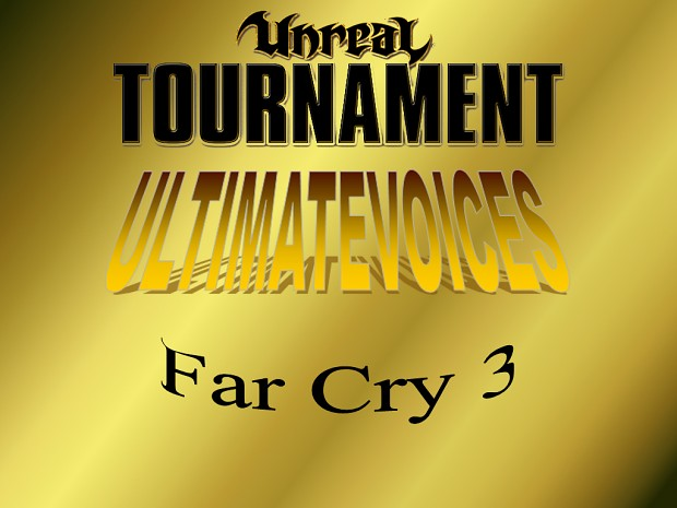 UV - Far Cry 3 (15 Voicepacks)