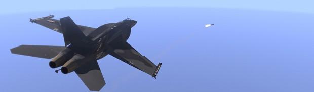 F/A-18X Black Wasp