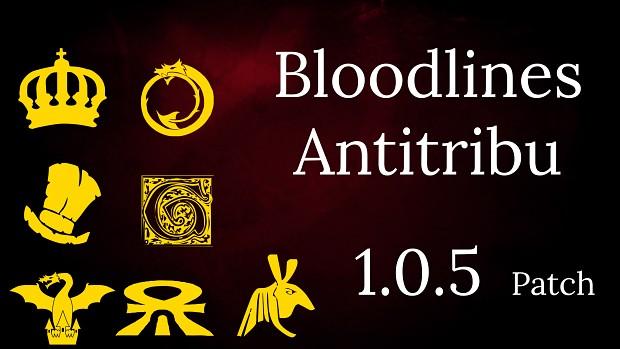 Bloodlines Antitribu Version 1.0.5 Hotfix