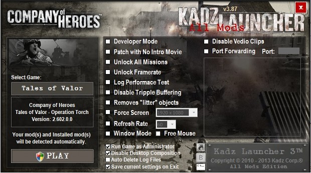 (Outdated) KADZ LAUNCHER 3 .87 Installer