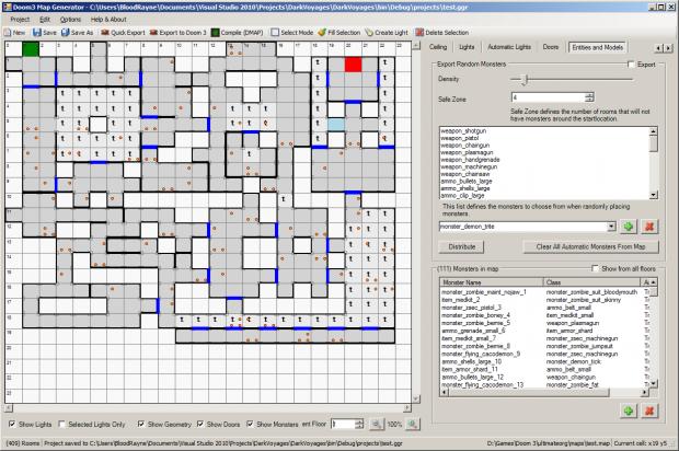 D3AMB - Doom 3 Automatic Map Builder