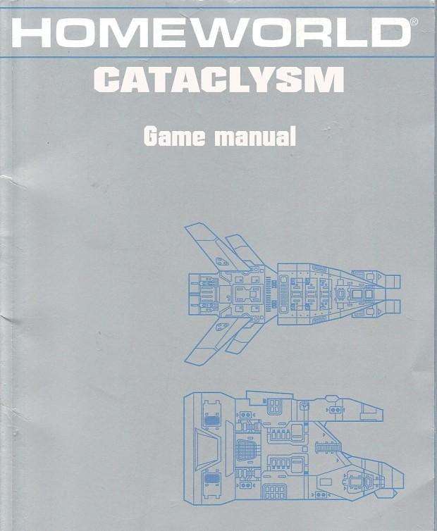Homeworld: Cataclysm manual PDF