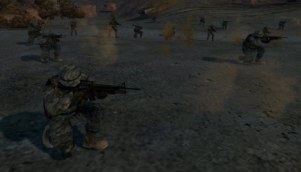 World in confliict modern infantry mix