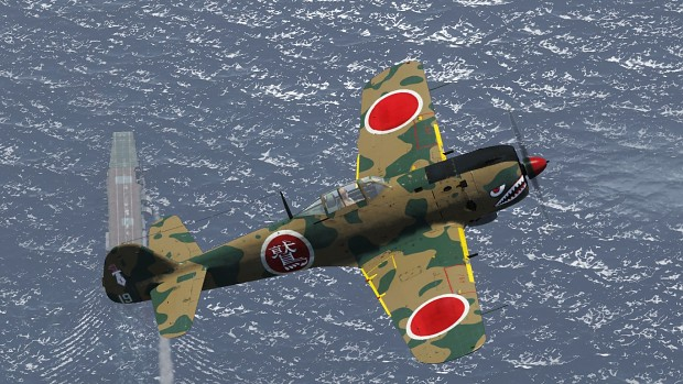 Fictional KI-84ko camo for War Thunder