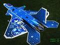 F-22V Aircraft Skin - Krystal