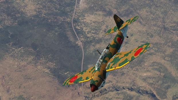 Fictional B7A2 camo for War Thunder