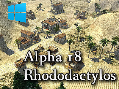 0 A.D. Alpha 18 Rhododactylos (Windows Version)