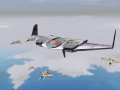 Rebel Raiders B-66 Black Widow