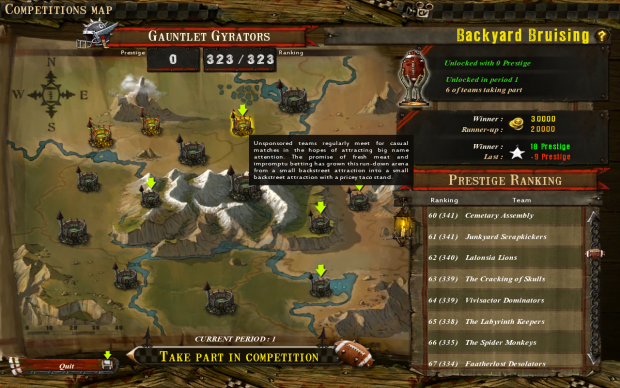 Blood Bowl Expanded Campaign