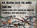 weapon tweaks 1.1  for armed zone mod