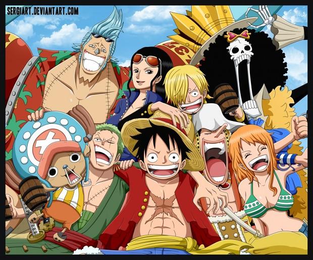 One Piece Strawhat Pirates Skins