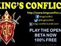 King's Conflict - Open Beta!