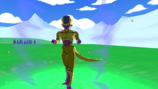 Frieza with golden transformation V2