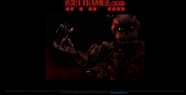 View download five nights at freddy s 4 fan made game mod db