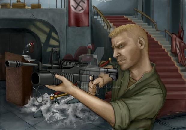 Nazis! Tauntpack Tank Dempsey