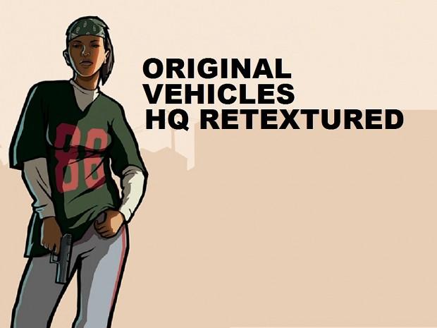 Original Vehicles HQ Retextured 1.0