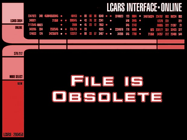 Known Space - FILE IS OBSOLETE
