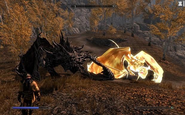 Magic   Conjure Avatar of Akatosh