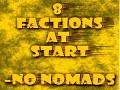 8 Factions at Start - no Nomads -mod for Total War