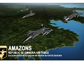 """""""Amazons"""" custom squadron and ace"""