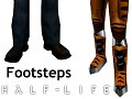 Half-Life 1 & 2 footstep sounds for Brutal Doom