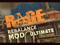 Rebalance mod Ultimate no maps