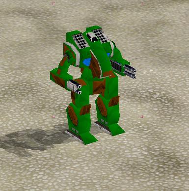 Mech Commander Omnitech 484