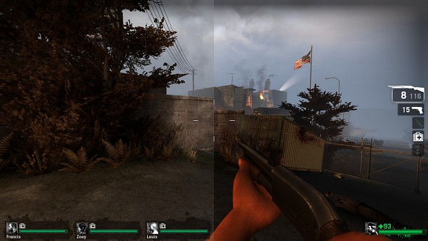 ENB and SweetFX for Left 4 Dead