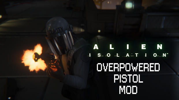 Overpowered Pistol