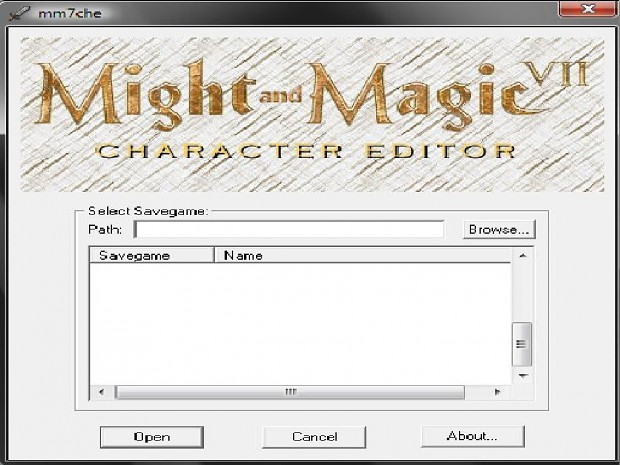 Might and Magic VII Hack Tool Basic