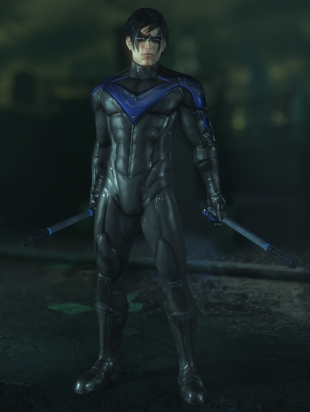 Robin and Nightwing Free Roaming file - Batman: Arkham ...
