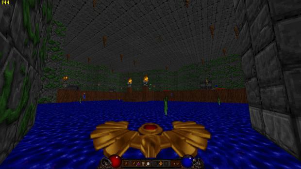 Heretic Diablo hud