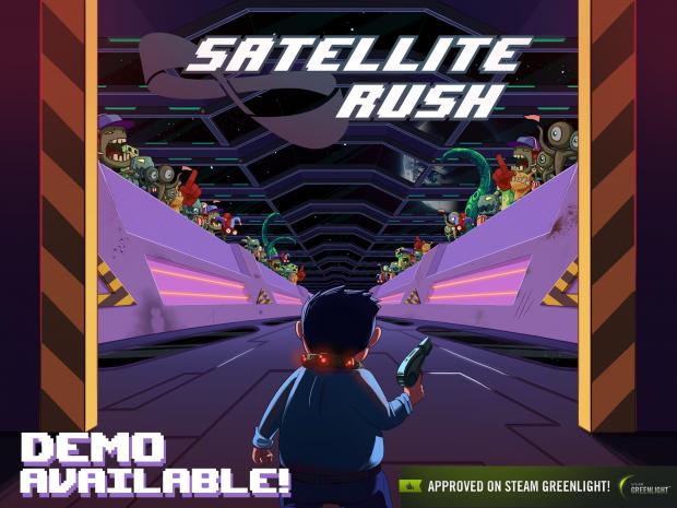 Satellite Rush v0.17 Linux Demo