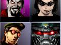 Playstation 2 Character Selection Art