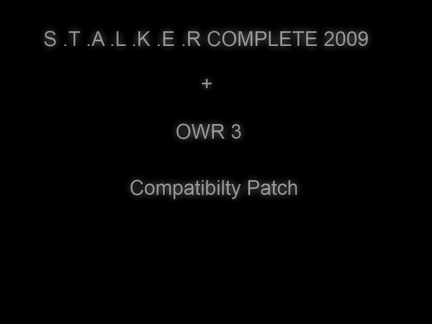 Compatibility Patch For Complete Mod + OWR 3