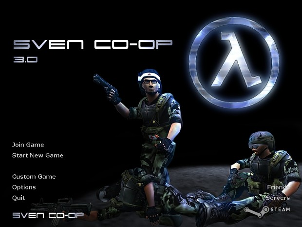 Sven Coop 3.0 with Rcbot beta 1.411