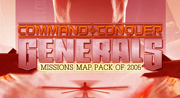 Zero Hour Missions Map Pack of 2005