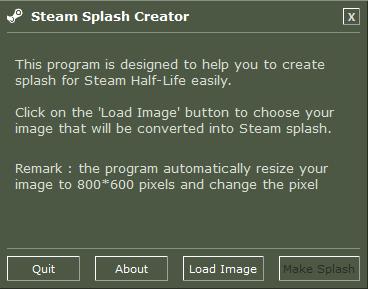 Steam Splash Creator