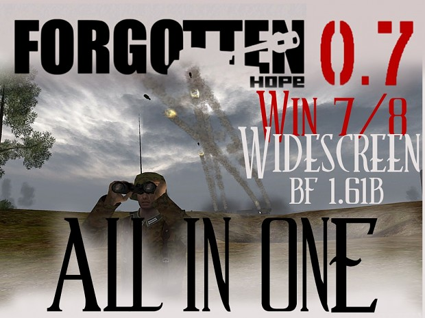 Forgotten Hope 0.7 - ALL in ONE