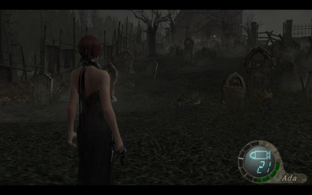 RE4 Ada Wong Goth Chik Clothes Pack
