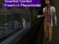 Scientist Gordon Freeman PlayerModel
