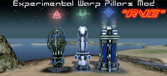 Experimental Warp Pillars Mod Beta 2.1
