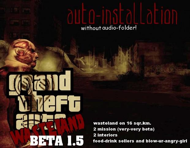 GTA Wasteland Beta 1.5 (old beta 2)
