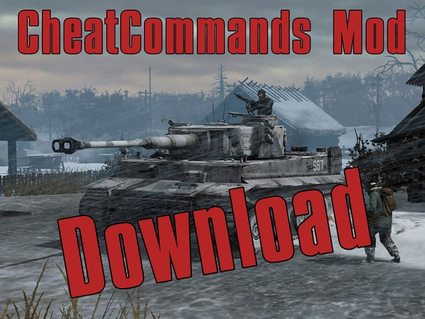 CheatCommands Mod ULE v. 1.7.1 [Outdated]