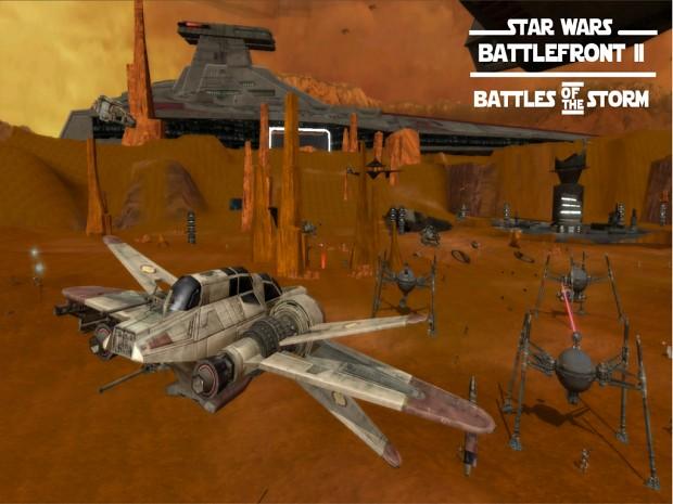 Star Wars Battlefront 2: Battles of the Storm