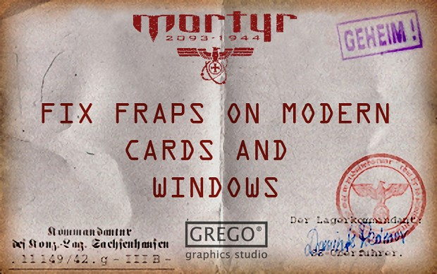 Mortyr 1944-2093  fix fraps